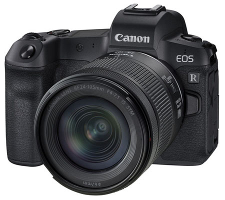 Canon EOS R kit 24-105mm f/4-7.1 IS STM