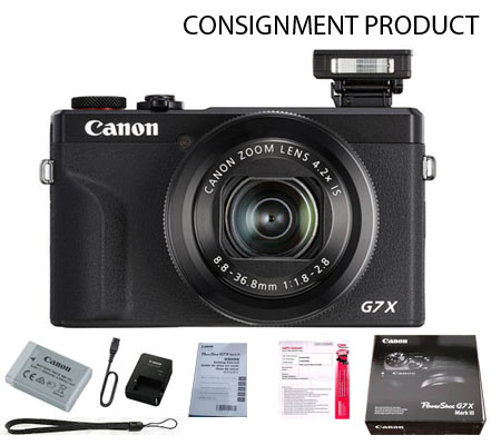 :::USED::: Canon PowerShot G7X Mark III Black (MINT) Kode 106 Consignment