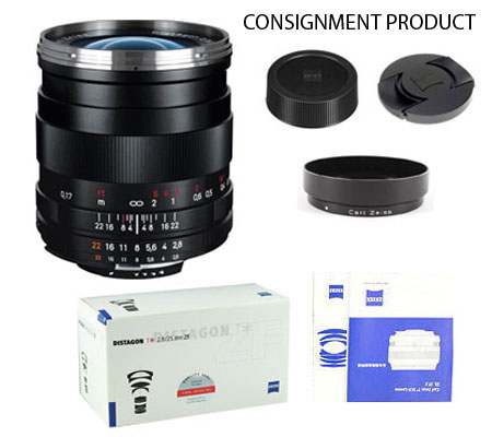 ::: USED ::: Carl Zeiss For Nikon 25mm F/2.8 ZF Distagon T* (Excellent To Mint-965) CONSIGNMENT