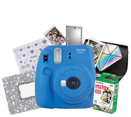 Fujifilm Ginza Package Instax Mini 9 (Cobalt Blue)