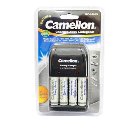 Camelion charger + battery 2100mah