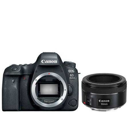 Canon EOS 6D Mark II Body Free Lens EF 50mm F1.8*