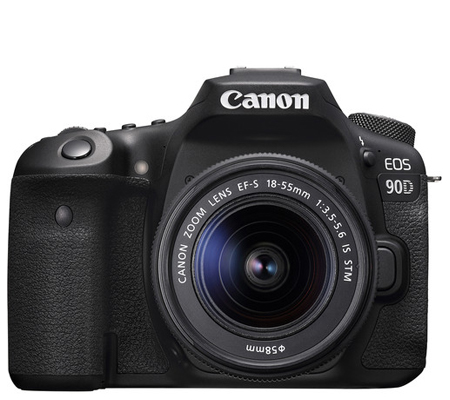 Canon EOS 90D kit EF-S 18-55mm f/3.5-5.6 IS STM Built-in WiFi