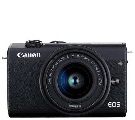 Canon EOS M200 kit 15-45mm F/3.5-6.3 IS STM Black