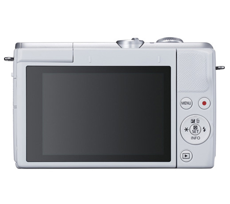 Canon EOS M200 kit 15-45mm F/3.5-6.3 IS STM White