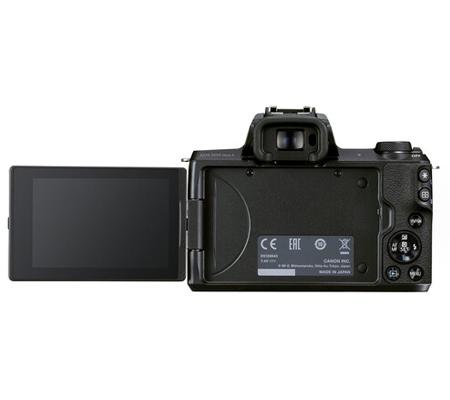 Canon EOS M50 Mark II Kit 15-45mm f/3.5-6.3 IS STM Black