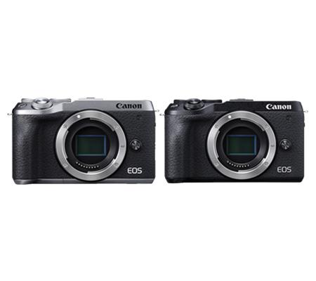 Canon EOS M6 Mark II Body Mirrorless Camera Silver