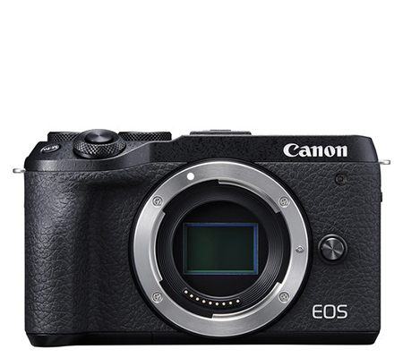 Canon EOS M6 Mark II Body Mirrorless Camera Black