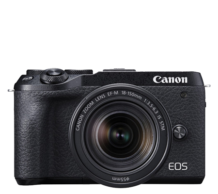 Canon EOS M6 Mark II kit 18-150 IS STM Mirrorless Camera Black