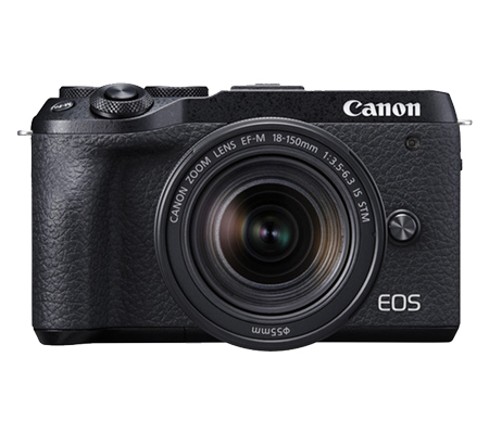 Canon EOS M6 Mark II kit 18-150 IS STM Mirrorless Camera Black