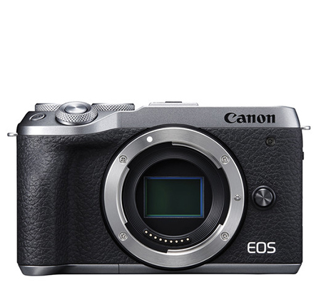 Canon EOS M6 Mark II Body Mirrorless Camera Silver