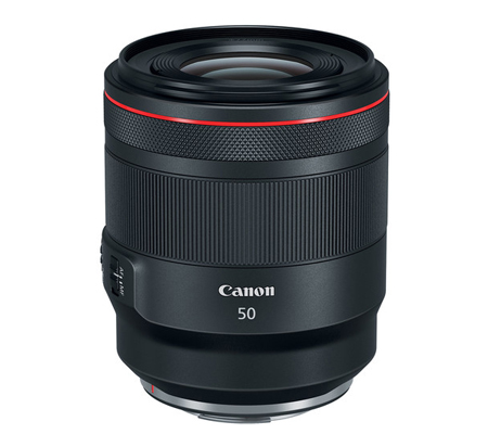 Canon RF 50mm f/1.2L USM Lens.
