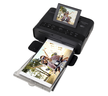 Canon Selphy CP1300 Compact Photo Printer Black