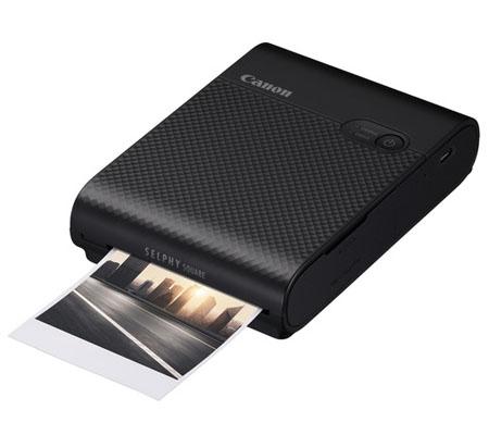 Canon Selphy Square QX10 Compact Photo Printer Black