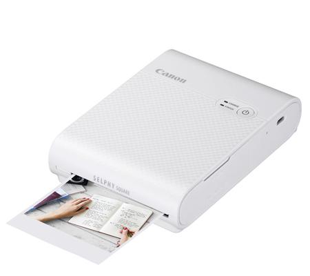 Canon Selphy Square QX10 Compact Photo Printer White