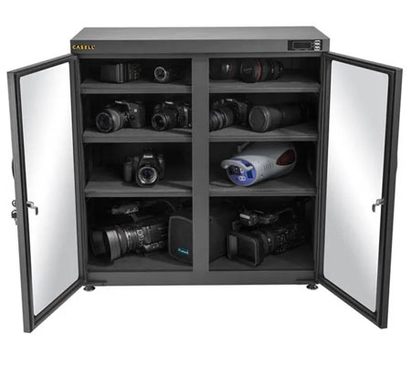 Casell CA-250A Dry Cabinet Camera with Electronic Display [250 L]
