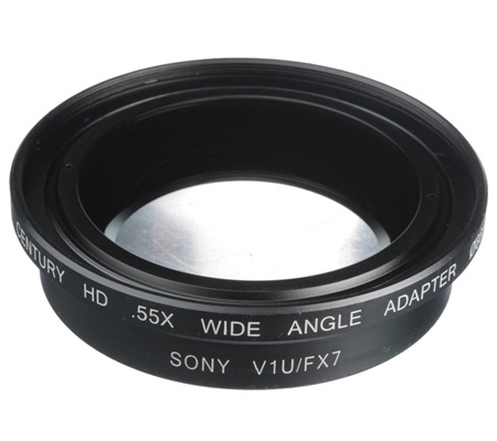 Century Optics (0HD-55WA-SH6) Schneider 0.55X Wide Angle Adapt HD Sony