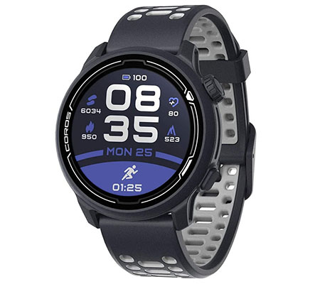 Coros PACE 2 Silicone Premium GPS Sport Watch Dark Navy