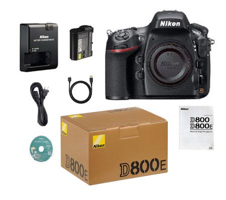 ::: USED ::: Nikon D800E Body (Mint-481)