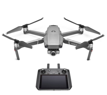DJI Mavic 2 Zoom Plus with Smart Controller