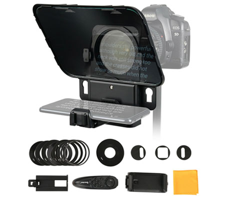 Desview T3 Broadcast Teleprompter for Camera Smartphone Tablet