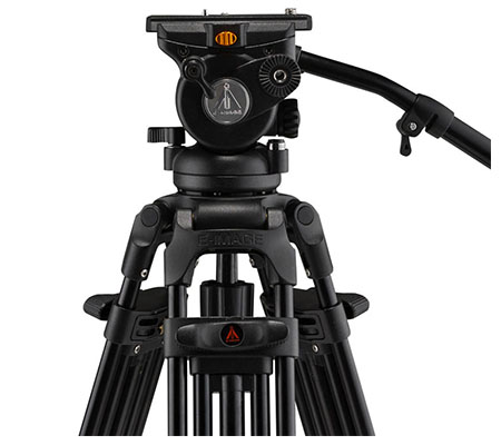 E-Image EG05A2 Two-Stage Aluminum Tripod with GH05 Head