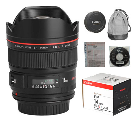 ::: USED ::: Canon EF 14mm F/2.8L II USM (Excellent-503)