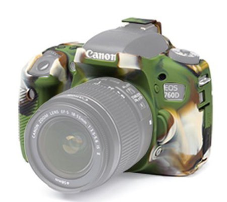 Easy Cover for Canon EOS 760D Army