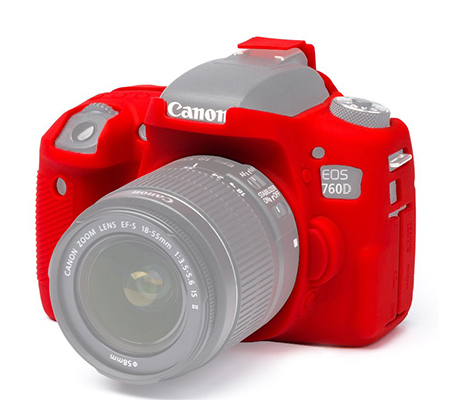 Easy Cover for Canon EOS 760D Red