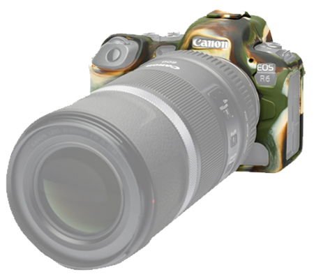 Easy Cover for Canon R5/R6 Army