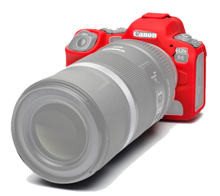 Easy Cover for Canon R6 Red