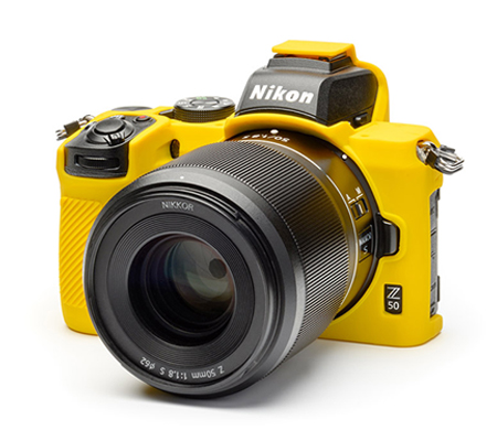 Easy Cover for Nikon Z50 Yellow
