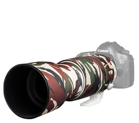 Easy Cover Lens Oak For Canon EF 100-400mm F/4.5-5.6L IS II USM V2 Green Camouflage