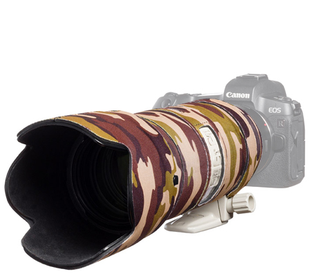 Easy Cover Lens Oak For Canon EF 70-200mm f/2.8 IS II & III Brown Camouflage