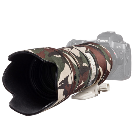 Easy Cover Lens Oak For Canon EF 70-200mm f/2.8 IS II & III Green Camouflage
