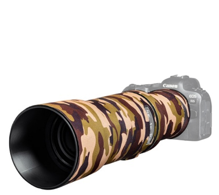 Easy Cover Lens Oak For Canon RF 600mm F/11 IS STM Brown Camouflage