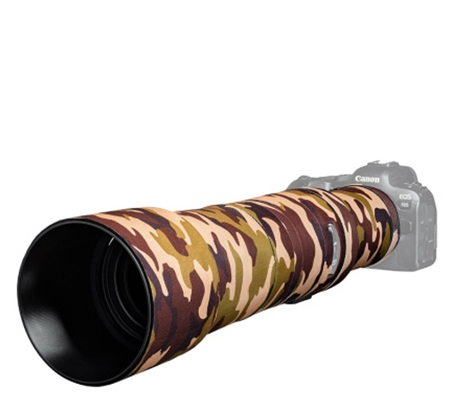 Easy Cover Lens Oak For Canon RF 800mm F/11 IS STM Brown Camouflage