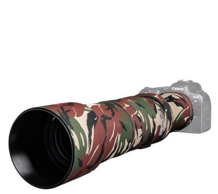 Easy Cover Lens Oak For Canon RF 800mm F/11 IS STM Green Camouflage