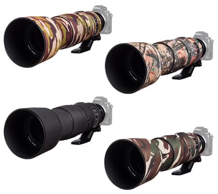 Easy Cover Lens Oak For Nikon 200-500mm f/5.6 VR Black