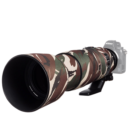 Easy Cover Lens Oak For Nikon 200-500mm f/5.6 VR Green Camouflage