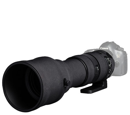 Easy Cover Lens Oak For Sigma 150-600mm f/5-6.3 DG OS HSM Sport Black