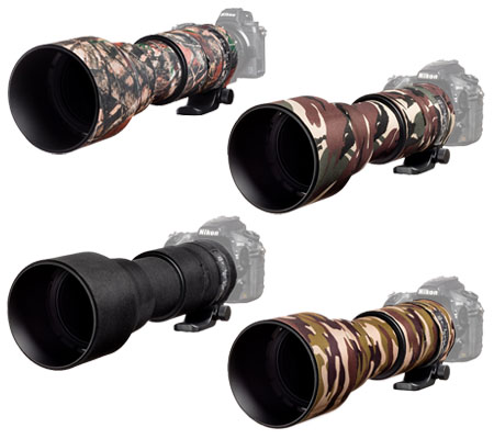 Easy Cover Lens Oak For Sigma 150-600mm f/5-6.3 DG OS HSM Contemporary Brown Camouflage