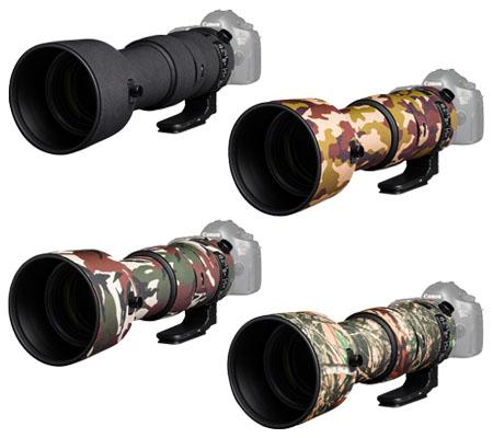 Easy Cover Lens Oak For Sigma 60-600mm f/4.5-6.3 DG OS HSM Black