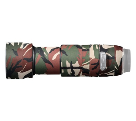 Easy Cover Lens Oak For Tamron 100-400mm F4.5-6.3 Di VC USD Green Camouflage