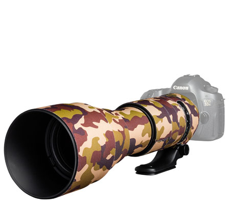 Easy Cover Lens Oak For Tamron 150-600mm f/5-6.3 Di VC USD G2 Brown Camouflage