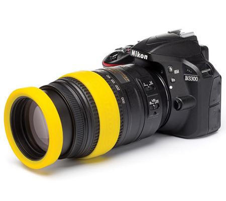 Easy Cover Lens Rim 77mm Yellow
