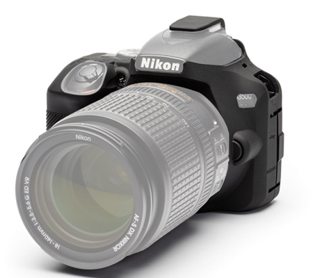 Easy Cover for Nikon EOS D3500 Black