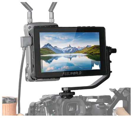 FeelWorld F5 Pro 5.5Inch 4K HDMI IPS Touchscreen Field Monitor
