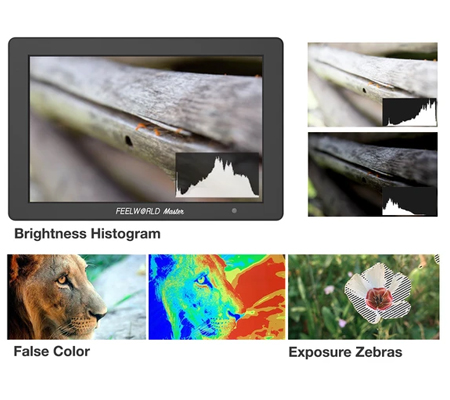 FeelWorld Master MA7 7 Inch On-Camera Field Monitor 4K HDMI