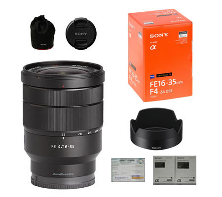 ::: USED ::: Sony FE 16-35mm F/4 ZA OSS (Excellent-123/459)